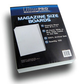 Ultra Pro 100 Count Magazine Size Back Boards