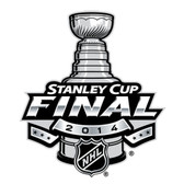 2014 Stanley Cup Final Patch, from NHL Stanley Cup Finals