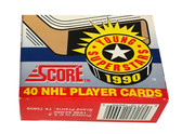 1990 Score NHL Young Superstars Set 40 Hockey Cards