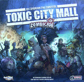 Zombicide: Toxic City Mall Expansion miniatures board game