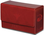 Dual Flip Deck Box Red Mana for Magic The Gathering Cards Storage