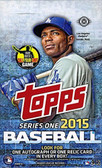 2015 Topps Baseball Cards Hobby Box with 360 Cards
