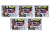 2015-16 Panini NHL Hockey Stickers, 5 Packs of 7 for 35 stickers