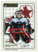 1997-98 Beehive Authentic Signature Craig Hillier Rookie Autograph Card #64