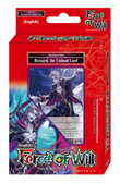 Force of Will Alice Cluster TCG: Rezzard The Undead Lord Darkness Deck, English