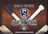 2015-16 Leaf In The Game Stickwork Hockey Hobby Box