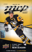 2015-16 Upper Deck MVP hockey cards Hobby Box of 24 Packs