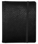 Legion 4-Pocket 20 Page Side-Loading Dragon-Hide Textured Binder: Black