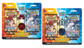 Pokemon Double Crisis Coins Pins Booster Packs - Rival Ambitions: Aqua vs. Magma