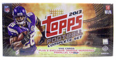 2013 Topps Football Cards Complete Set Hobby Edition with Orange Parallels