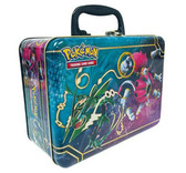 2015 Pokémon Collector Chest Tin boosters, coins, promos