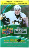 2011-12 Upper Deck Series 2 NHL hockey cards 12 pack Blaster box