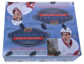 2016-17 Upper Deck Artifacts NHL hockey cards retail box of 24 Packs