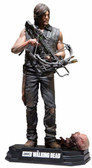 "Daryl Dixon 7"" Figure McFarlane Walking Dead Color Tops Red Collector Edition"