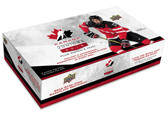 2015 Upper Deck Team Canada Juniors hockey cards hobby box