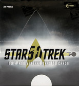Star Trek 50th Anniversary Trading Cards Hobby Box