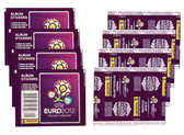 2012 Panini UEFA Euro 2012 Cup Soccer Stickers 10 Packets of 7 for 70 stickers