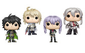Funko Pop! Animation, Seraph Of The End Yuichiro Shinoa Mikaela Ferid