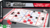 NHL Checkers board game: Detroit Red Wings