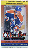 2011-12 Upper Deck O-Pee-Chee Blaster Box NHL hockey cards