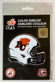 BC Lions, CFL Aluminum Coloured Emblem