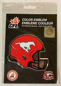 Calgary Stampeders, CFL Aluminum Coloured Emblem