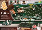 OYO CFL Endzone Set: Saskatchewan Roughriders