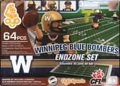 OYO CFL Endzone Set: Winnipeg Blue Bombers