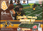 OYO CFL Endzone Set: Hamilton Tiger Cats