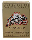 Team Canada '72 40th Anniversary 1972-2012 Limited Edition Collector Card Set