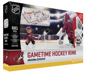 OYO NHL GameTime Hockey Rink Full Building Block Set, Arizona Coyotes