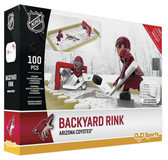 OYO NHL Hockey Backyard Rink Building Block Set, Los Angeles Kings
