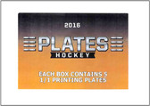 2016 Leaf Plates Hockey Hobby Box