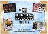 2016-17 Leaf In The Game Heroes & Prospects Hockey Cards Hobby Box
