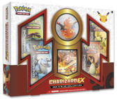 Pokemon Red and Blue Charizard EX Box