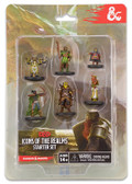 Dungeons & Dragons Icons Of The Realms Starter Set Heroes with 6 figures
