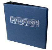 "3"" Ultra Pro Collectors Album Navy Blue 3-Ring Binder + 50 Pages of 9-pocket"