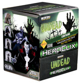 HeroClix: Undead Gravity Feed Display box of 24 Packs