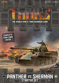 Tanks - Panther vs Sherman Starter Box War Game
