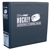"3"" Ultra Pro Hockey Navy 3-Ring Binder + 50 Pages of Top Loading 9-pocket"