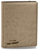 Antique White Ultra Pro Premium PRO-Binder 9-Pocket Side-Loading Card Storage