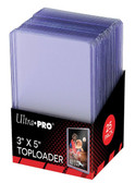 "25 Ultra Pro Tallboy 3"" x 5"" Toploaders sports cards storage protection"