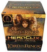 Lord Of The Rings Fellowship of the Ring HeroClix 24-Figure Gravity Feed Display