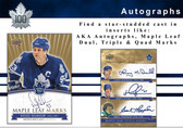 2017 Upper Deck Toronto Maple Leafs 100th Centennial Hockey Cards Hobby Box