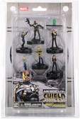 Marvel Heroclix Nick Fury Agents of SHIELD Fast Forces 6 pack