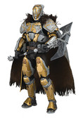 "Destiny 10"" Lord Saladin Deluxe Figure, Mcfarlane"