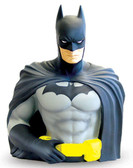 Batman DC Comics Bust Bank Action Figure and Coin Bank, Monogram