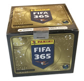 2017 Panini FIFA 365 Soccer Stickers Box of 50 Packets