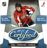 2010-11 Panini Certified Hockey Hobby Box