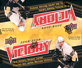 2008-09 Upper Deck Victory NHL hockey cards Box